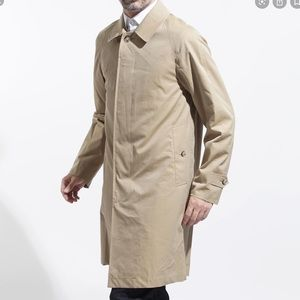 BURBERRY Classic Men's Wool Lined Trench Coat